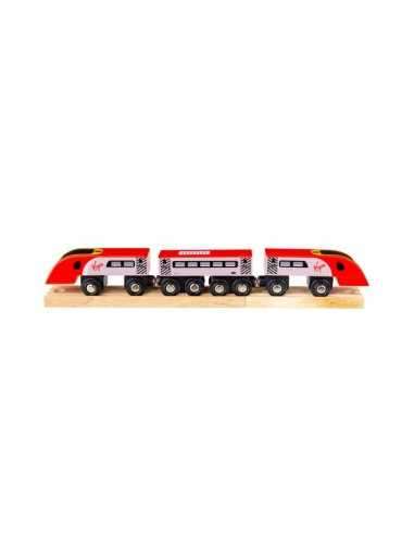 Bigjigs Rail Virgin Train Pendolino