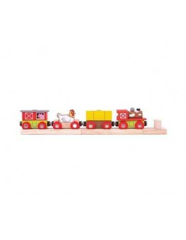 Bigjigs Rail Farmyard Train
