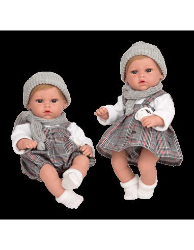 Arias Reborn Twins 33cm - Nia with...