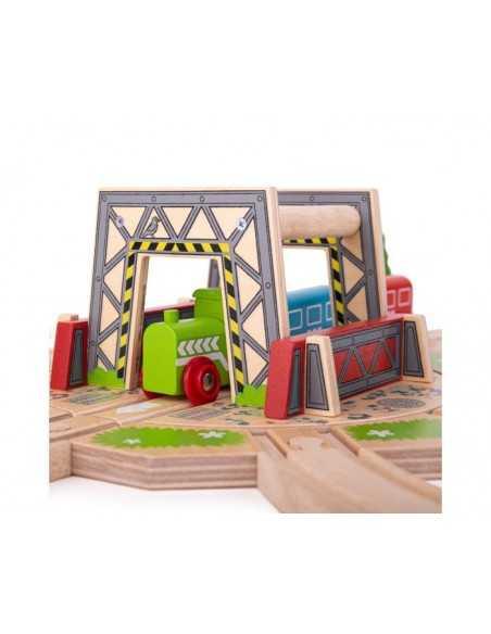 Bigjigs Rail Industrial Turntable Bigjigs Toys