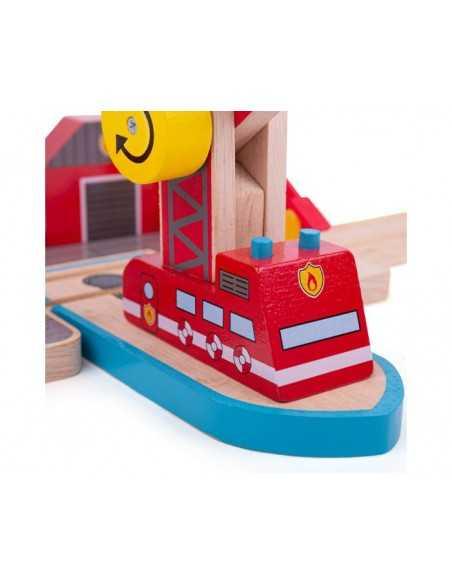 Bigjigs Rail Fire Sea Rescue Bigjigs Toys