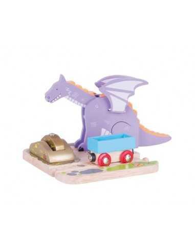 Bigjigs Rail Dragon Crane