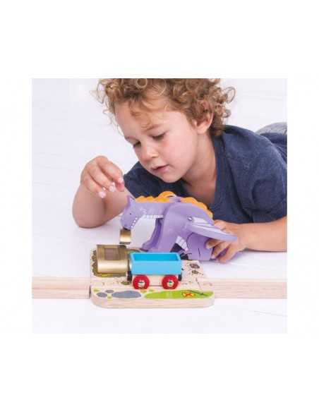 Bigjigs Rail Dragon Crane Bigjigs Toys