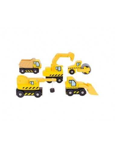 Bigjigs Rail Site Vehicles