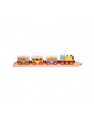 Bigjigs Rail Fruit and Veg Train
