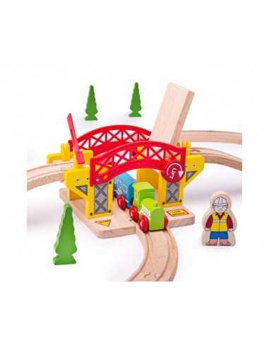 Bigjigs Rail Lifting Bridge