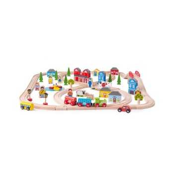 Bigjigs Rail Town and...
