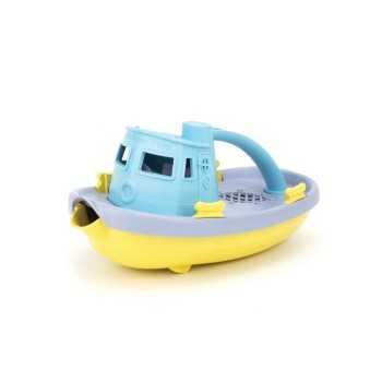 Green Toys Tugboat-Light Blue