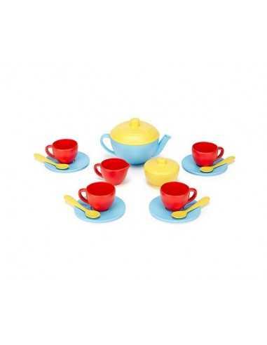 Green Toys Tea Set (Blue Teapot)