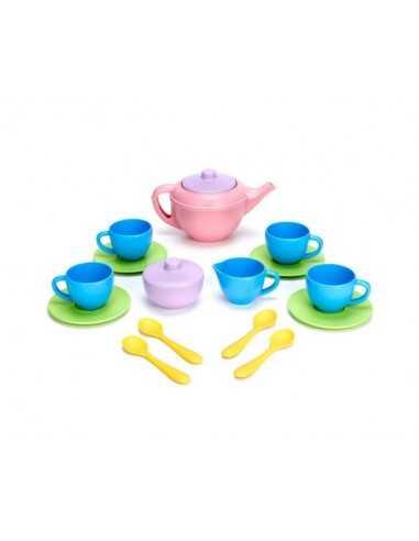 Green Toys Tea Set (Pink Teapot)