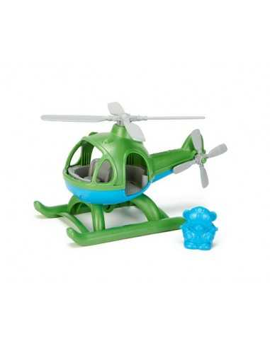 Green Toys Helicopter-Green