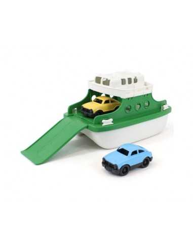 Green Toys Ferry Boat-Green/White