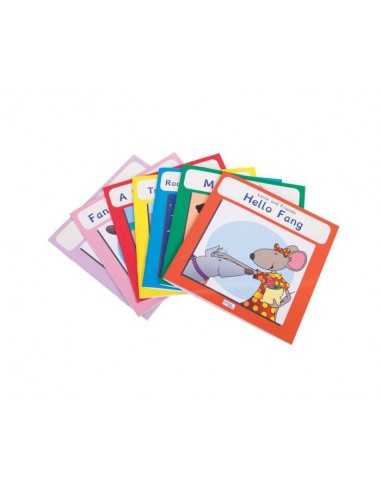 Lexie Mouse Phonic Coloured Book Band...