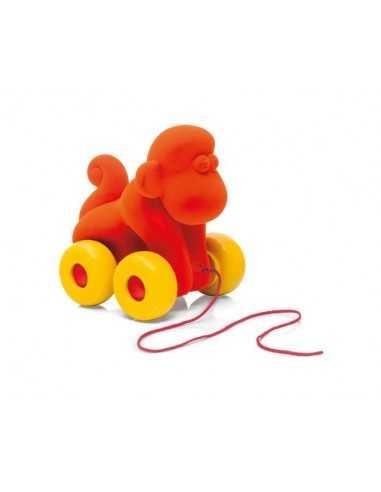 Rubbabu Pull Along Monkey