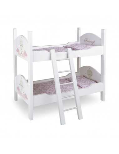 Arias Firenze Dolls Bunk Bed With Ladder