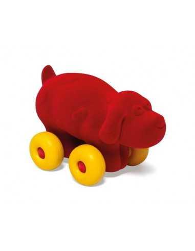 Rubbabu Aniwheels Dog-Medium (Red)