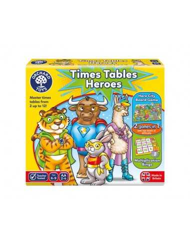 Orchard Toys Times Tables Hereos