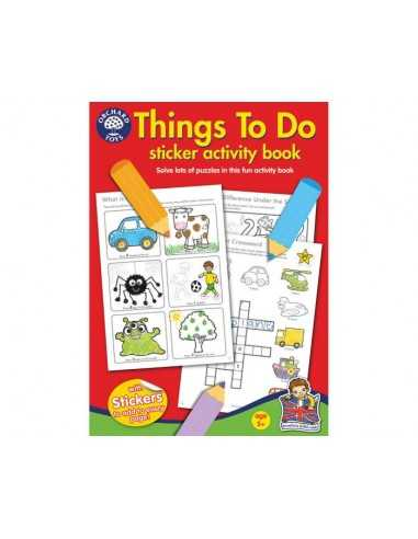 Orchard Toys Things To Do Colouring Book