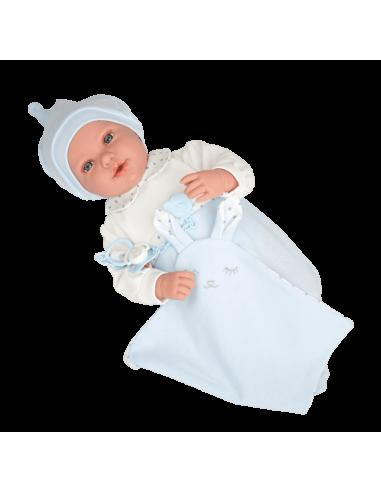 Arias 45cm Doll Iria with Comforter...
