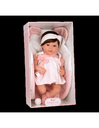 Arias Reborn Doll 45cm-Iria with Blanket