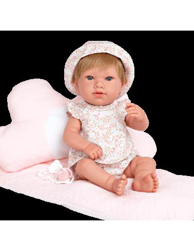 Arias Reborn Doll 42cm-Salma Pink
