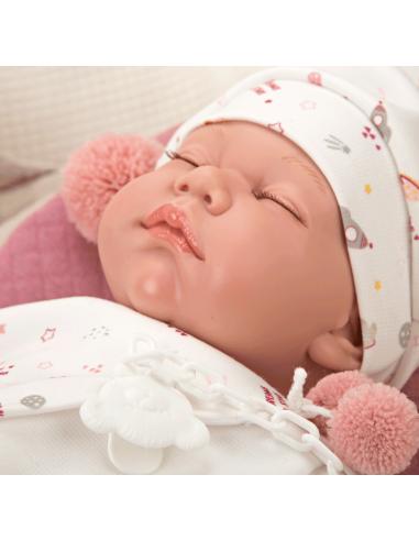 Arias Weighted Reborn Doll 45cm - Leo...