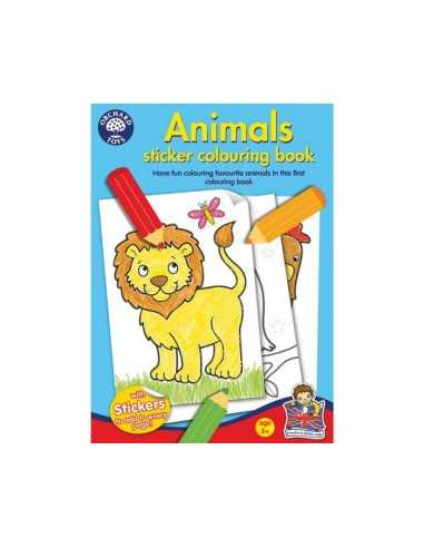 Orchard Toys Animal Colouring Book