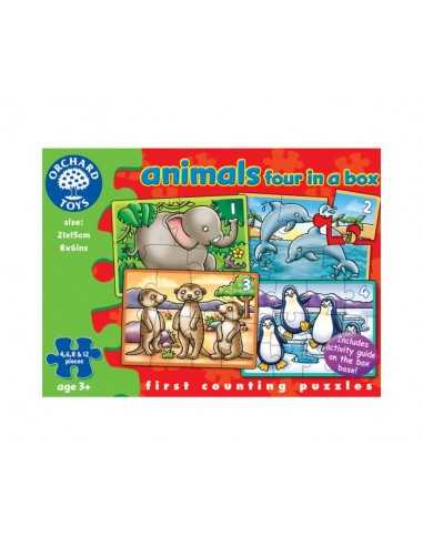 Orchard Toys Animals Four In A Box...