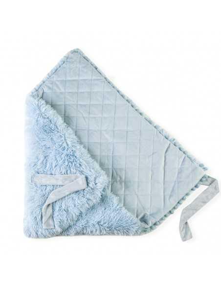 Bizzi Growin Baby Blanket Koochiwrap-Powder Blue Bizzi Growin