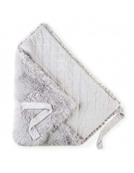 Bizzi Growin Baby Blanket Koochiwrap-Whisper Grey Bizzi Growin