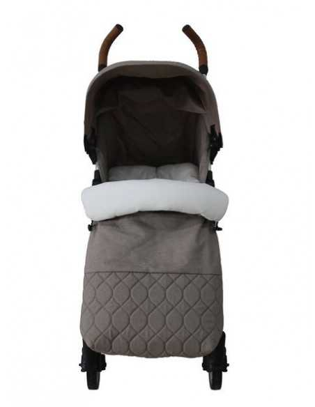 Babyco Sigma 0+ Stroller From Birth With Footmuff & Changing Bag-Beige Babyco
