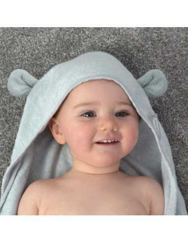 Shnuggle Wearable Towel Grey