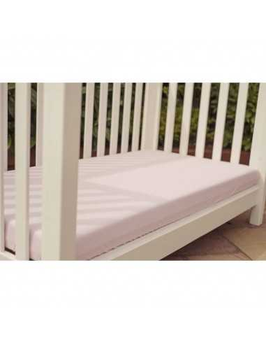 Bizzi Growin Pack Of 2 Cotbed Sheet-Pink