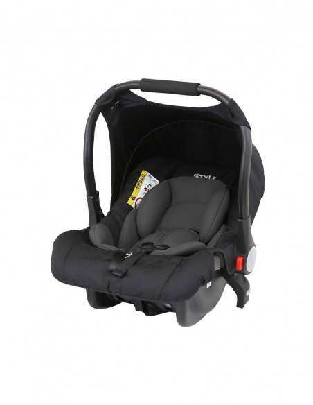 Isafe 3in1 Pram Travel System-Black + Next To ME Bedside Baby Crib + Baby Bouncer Rocker Isafe