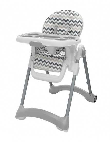 Didofy Cosmos 7 Piece Travel System Bundle-Grey + Next To ME Bedside Baby Crib + Mama PLUS Baby Highchair Didofy