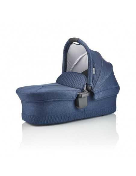 Junior Jones J Spirit 2in1 Bundle-Insignia Navy + Next To Me Bedside Baby Crib Junior Jones