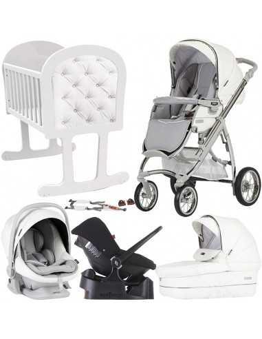 Bebecar Ip-Op Stroller + Car Seat,...