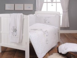 East Coast Silver Cloud Counting Sheep Bedding